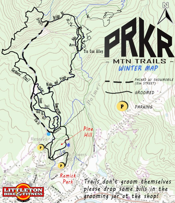 PRKR WINTER MAP